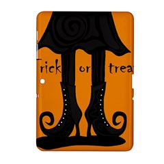 Halloween - witch boots Samsung Galaxy Tab 2 (10.1 ) P5100 Hardshell Case