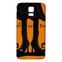 Halloween - witch boots Samsung Galaxy S5 Back Case (White)