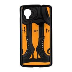 Halloween - witch boots Nexus 5 Case (Black)