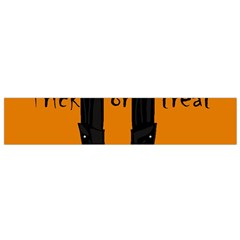 Halloween - witch boots Flano Scarf (Small)