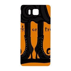 Halloween - witch boots Samsung Galaxy Alpha Hardshell Back Case