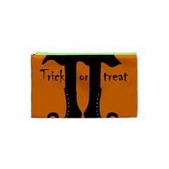 Halloween - witch boots Cosmetic Bag (XS)