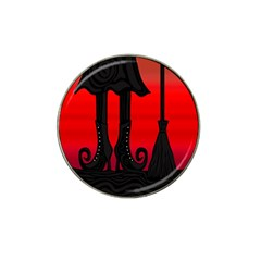 Halloween black witch Hat Clip Ball Marker (4 pack)