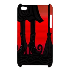Halloween black witch Apple iPod Touch 4