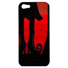 Halloween black witch Apple iPhone 5 Hardshell Case