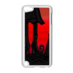 Halloween black witch Apple iPod Touch 5 Case (White)