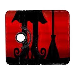 Halloween black witch Samsung Galaxy S  III Flip 360 Case