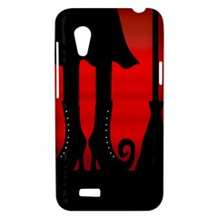 Halloween black witch HTC Desire VT (T328T) Hardshell Case