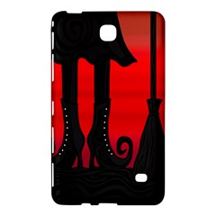 Halloween black witch Samsung Galaxy Tab 4 (7 ) Hardshell Case