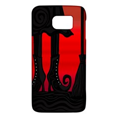 Halloween black witch Galaxy S6