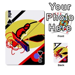 Abstract art Playing Cards 54 Designs