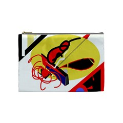 Abstract art Cosmetic Bag (Medium)