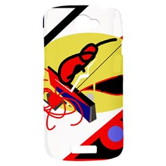 Abstract art HTC One S Hardshell Case