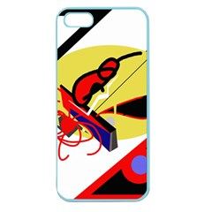 Abstract art Apple Seamless iPhone 5 Case (Color)
