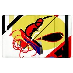 Abstract Art Apple Ipad 2 Flip Case