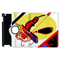 Abstract art Apple iPad 3/4 Flip 360 Case