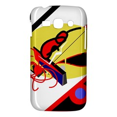 Abstract art Samsung Galaxy Ace 3 S7272 Hardshell Case