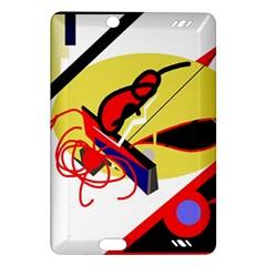 Abstract art Amazon Kindle Fire HD (2013) Hardshell Case