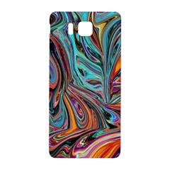 Brilliant Abstract In Blue, Orange, Purple, And Lime Green  Samsung Galaxy Alpha Hardshell Back Case