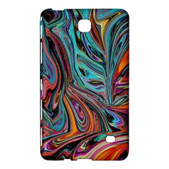 Brilliant Abstract In Blue, Orange, Purple, And Lime Green  Samsung Galaxy Tab 4 (7 ) Hardshell Case