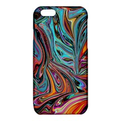 Brilliant Abstract in Blue, Orange, Purple, and Lime-Green  iPhone 6/6S TPU Case