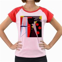 Looking forwerd Women s Cap Sleeve T-Shirt
