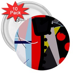 Looking forwerd 3  Buttons (10 pack)