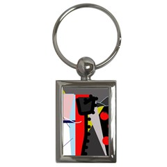 Looking forwerd Key Chains (Rectangle)