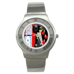 Looking forwerd Stainless Steel Watch