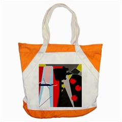 Looking forwerd Accent Tote Bag