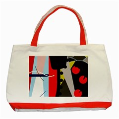 Looking forwerd Classic Tote Bag (Red)