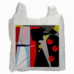 Looking forwerd Recycle Bag (One Side)