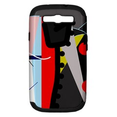 Looking forwerd Samsung Galaxy S III Hardshell Case (PC+Silicone)
