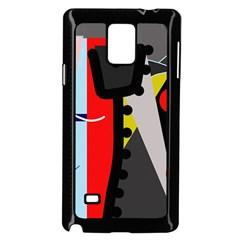 Looking forwerd Samsung Galaxy Note 4 Case (Black)