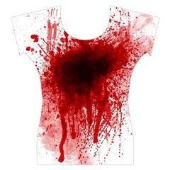 Gunshot Wound Women s Cap Sleeve Top