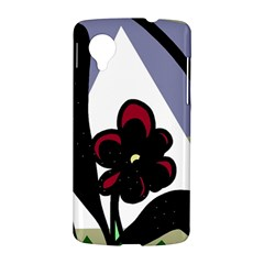 Black flower LG Nexus 5