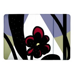Black flower Samsung Galaxy Tab Pro 10.1  Flip Case