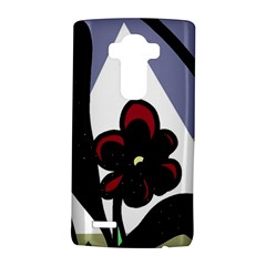Black flower LG G4 Hardshell Case