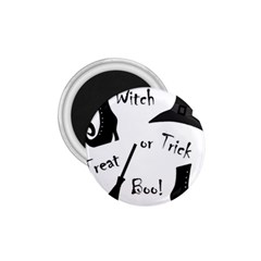 Halloween witch 1.75  Magnets