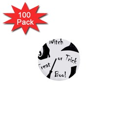 Halloween witch 1  Mini Buttons (100 pack)