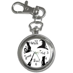 Halloween witch Key Chain Watches