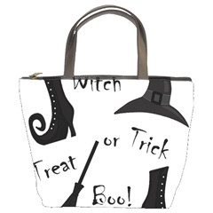 Halloween witch Bucket Bags