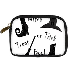 Halloween witch Digital Camera Cases