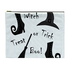Halloween witch Cosmetic Bag (XL)