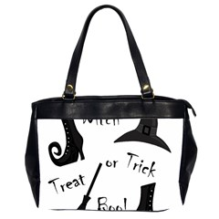 Halloween witch Office Handbags (2 Sides)