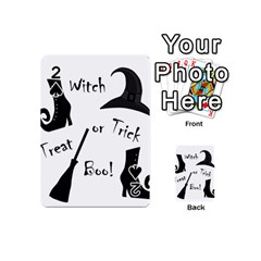 Halloween witch Playing Cards 54 (Mini)