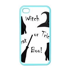 Halloween witch Apple iPhone 4 Case (Color)