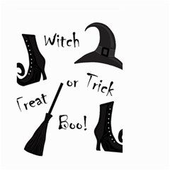 Halloween witch Small Garden Flag (Two Sides)