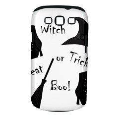 Halloween witch Samsung Galaxy S III Classic Hardshell Case (PC+Silicone)