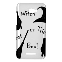 Halloween witch HTC Butterfly X920E Hardshell Case